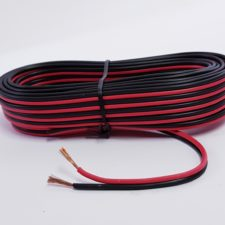 SPEAKER CABLE - RED/BLACK (5M)