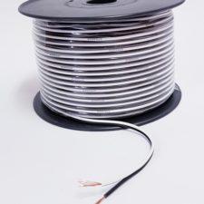 SPKEAKER CABLE (100M) WHITE/BLACK 0.5mm