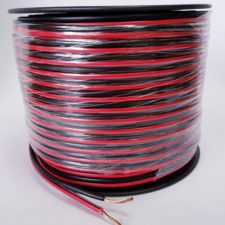 SPEAKER CABLE (100M) RED/ BLACK 2.5mm