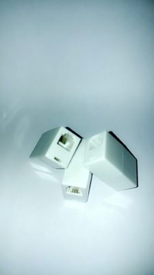 Telephone coupler adaptor RJ11 (Female to Female)