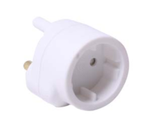 SCHUKO TO 3PIN ADAPTOR