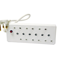 H CORD (6xMULTIPLUG 6WAY WIT3P)