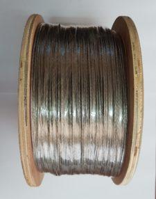 ELECTRIC FENCE BRAIDED ALUMINIUM WIRE 1000M SPOOL