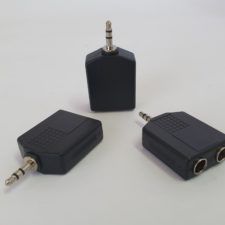 3.5mm STEREO (M) - 2 x 6.3mm STEREO (F)