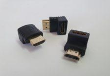 HDMI (M) TO HDMI (F) 90 DEGREE
