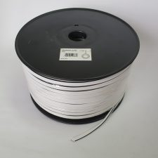 Speaker (100m) WHITE with black tracer line 2.5mm